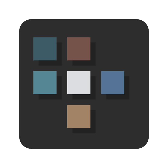 le logo du pixel persona d'affinity designer