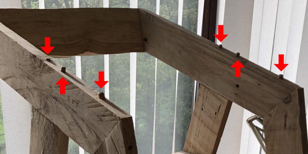 Faire des meubles en bois de récup.