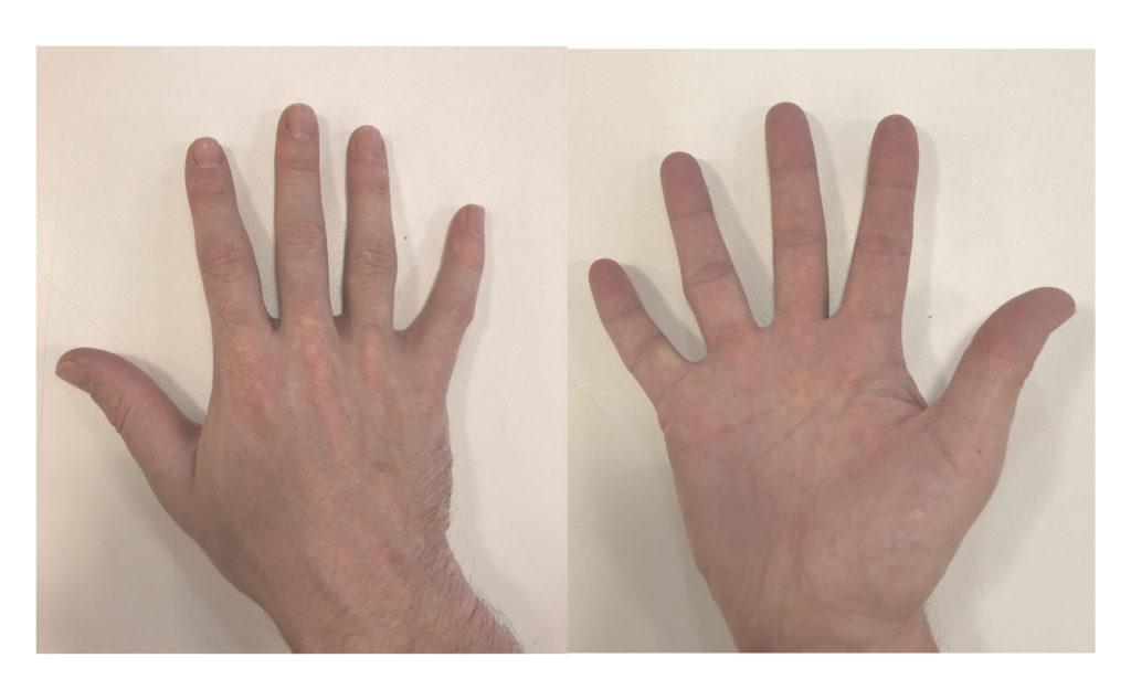 Voici mes mains