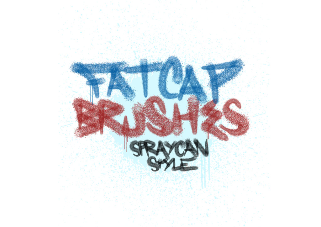 Fat cap brushes