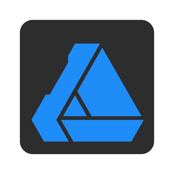 le logo du designer persona d'affinity designer