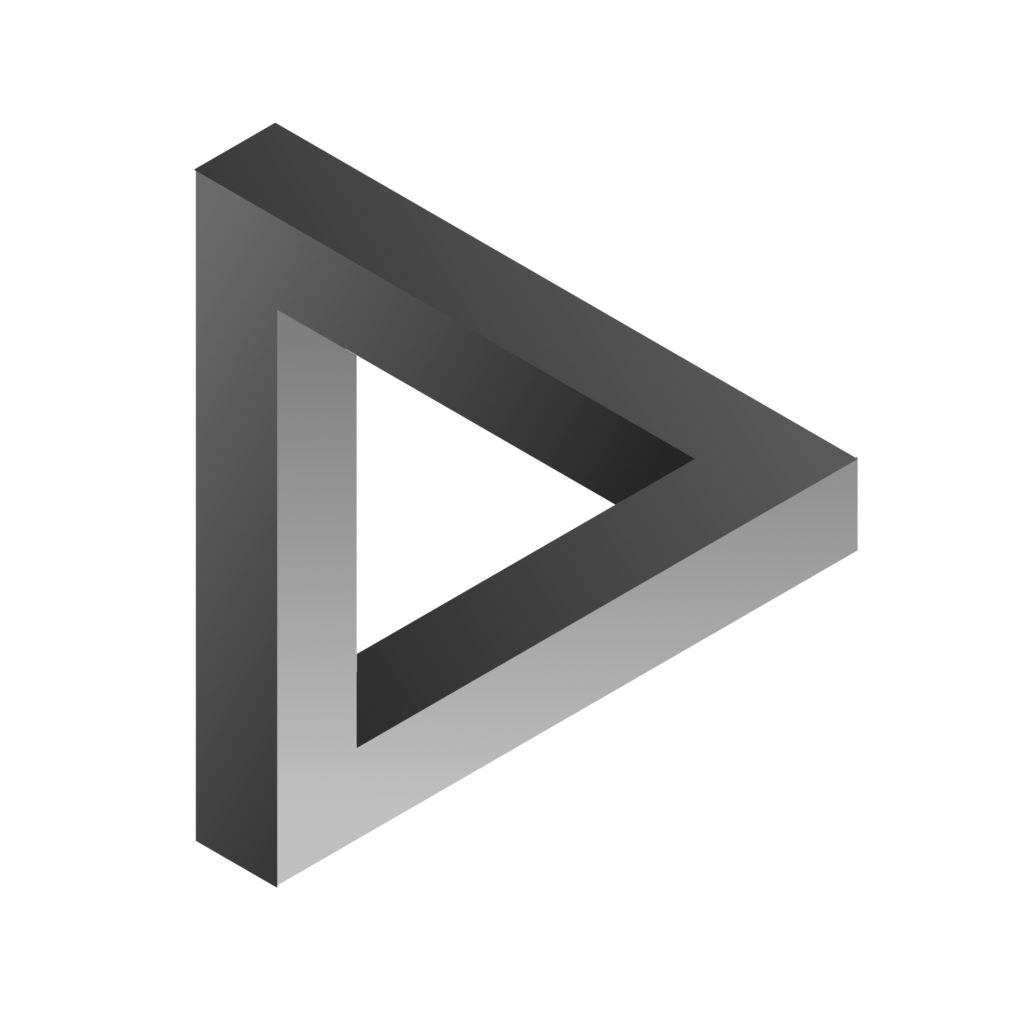Triangle de Penrose de Escher