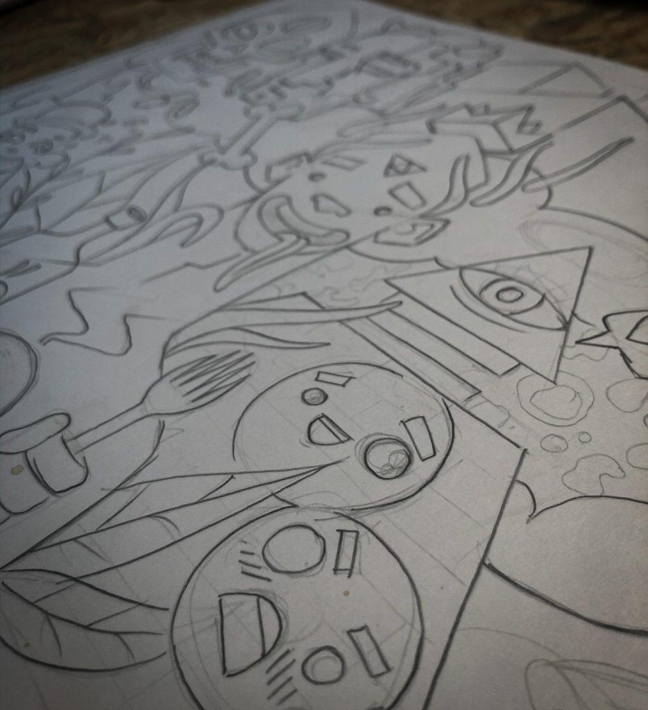 Le doodle art