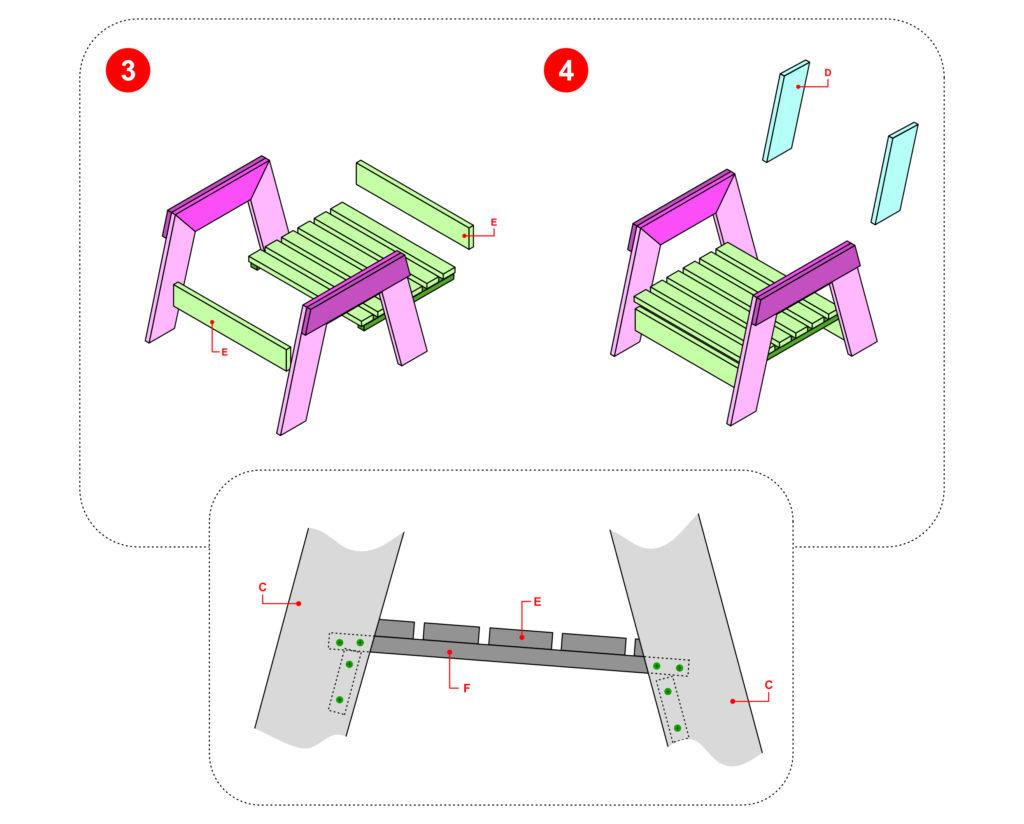 Je fabrique un fauteuil
